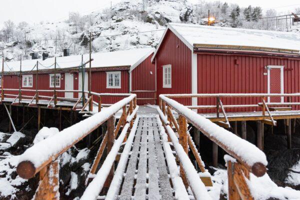 Road trip dans les îles Lofoten : Nusfjord