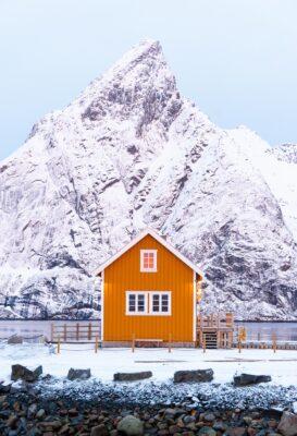 Sakrisøy dans les Lofoten