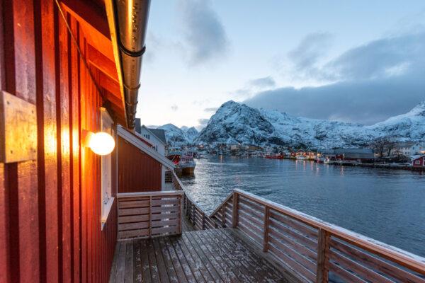 Sørvågen dans les îles Lofoten