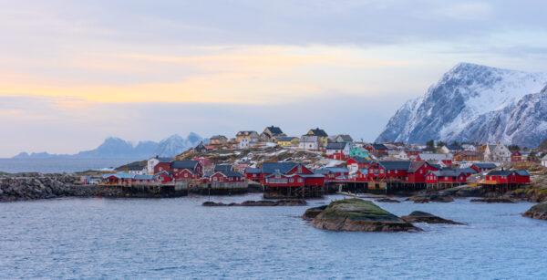 Village Å dans les îles Lofoten