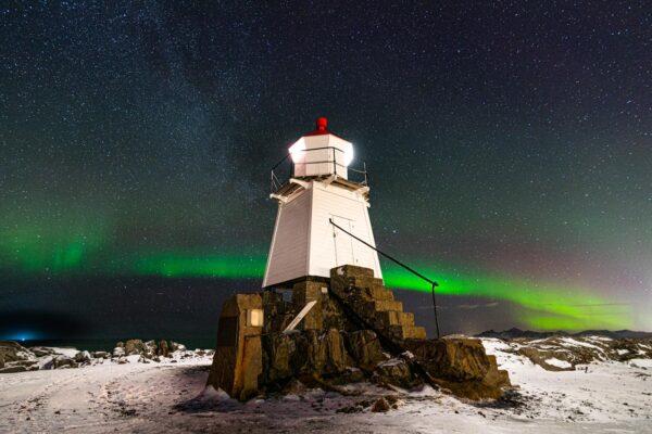 Voir des aurores boréales aux Lofoten