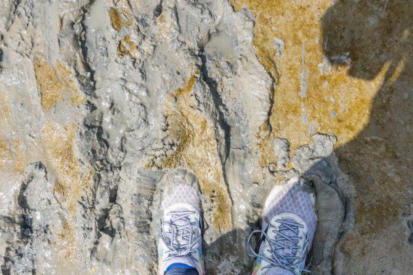 Chaussures pour une randonnée ou traversée en baie de Somme