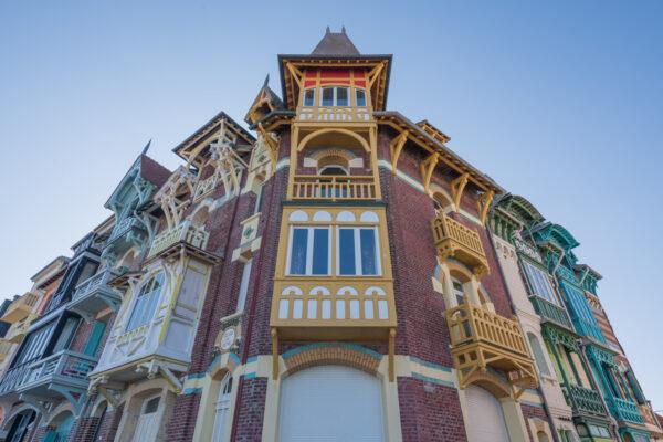 Villa Art Nouveau à Mers-les-Bains