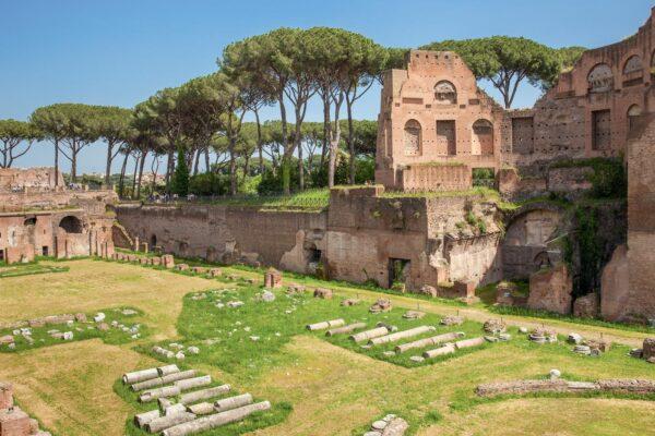 Palatin, l'une des collines de Rome