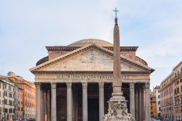 Panthéon dans le centre historique de Rome