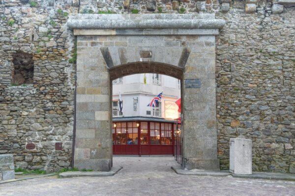 Quartier Intra-muros à Saint-Malo