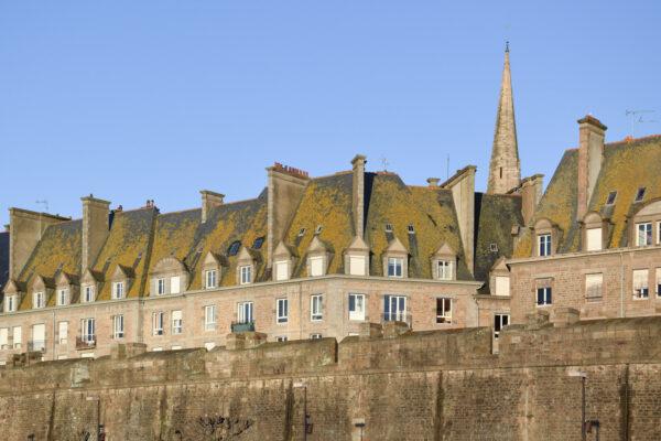 Remparts de la vieille ville de Saint-Malo