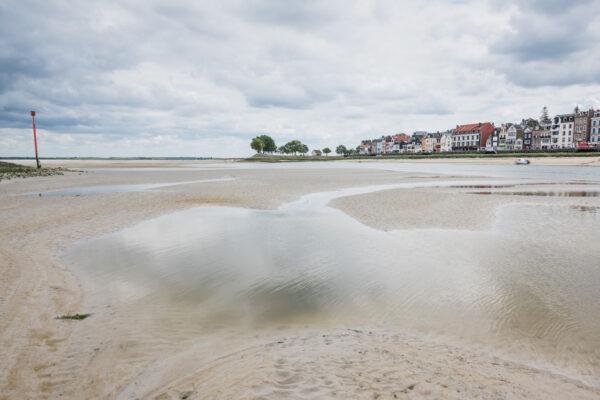 Traversée de la baie de Somme : Saint-Valéry-sur-Somme au Crotoy