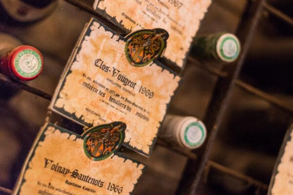 Ancienne bouteille du Clos de Vougeot
