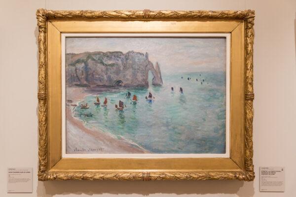 Etretat de Claude Monet