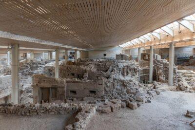 Akrotiri et ses ruines antiques