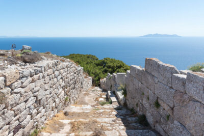 Ancient Thera à Santorin