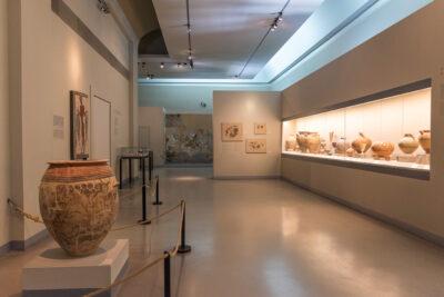 Musée archéologique de Thira à Santorin