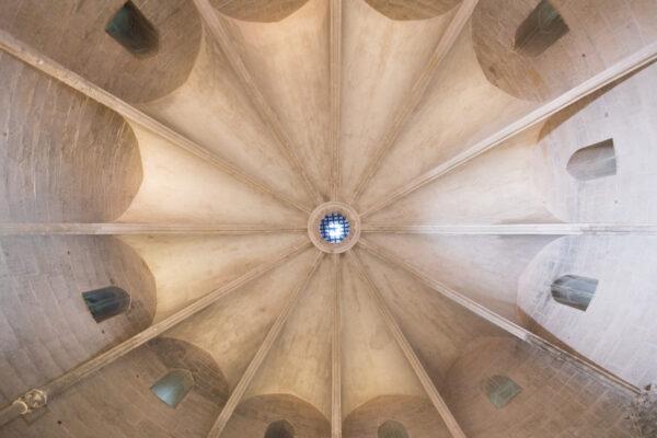 Plafond de la tour de Constance