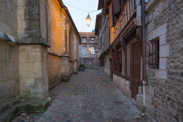 Rue de la Prison où se trouve le musée de l'ethnologie