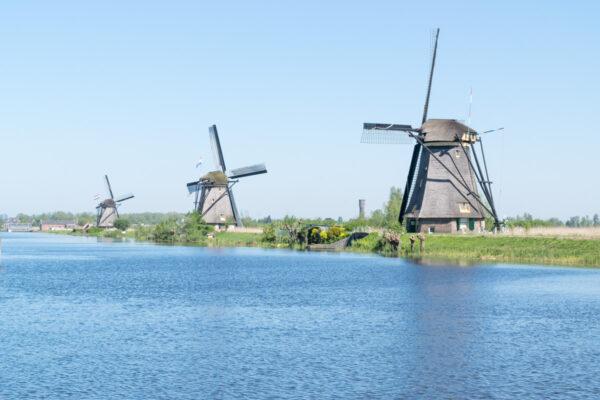 Croisière en bateau à Kinderdijk