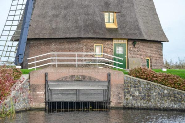 Moulin de drainage aux Pays-Bas