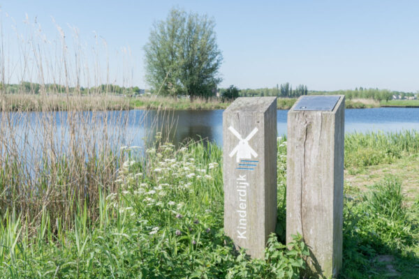 Promenade à pied à Kinderdijk