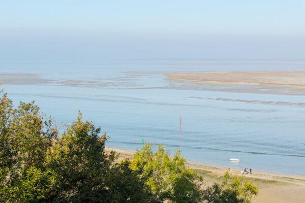 Point de vue sur la baie de Somme