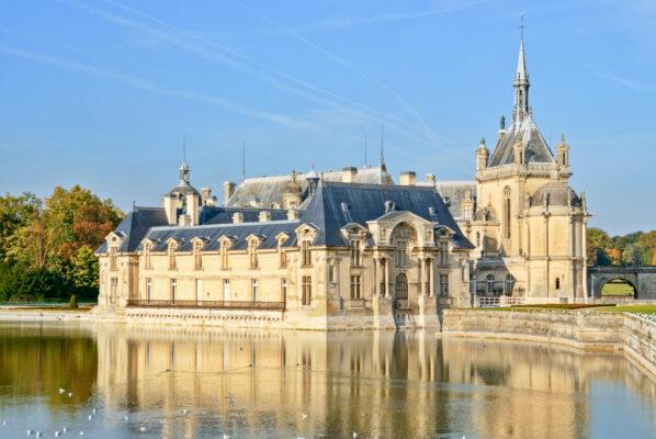 Château de Chantilly dans les Hauts-de-France