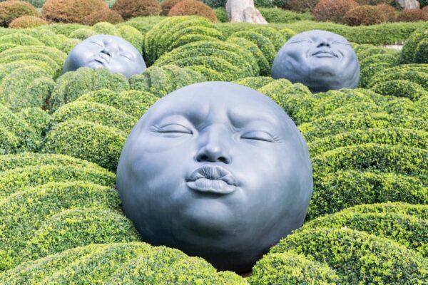 Jardins des émotions à Étretat