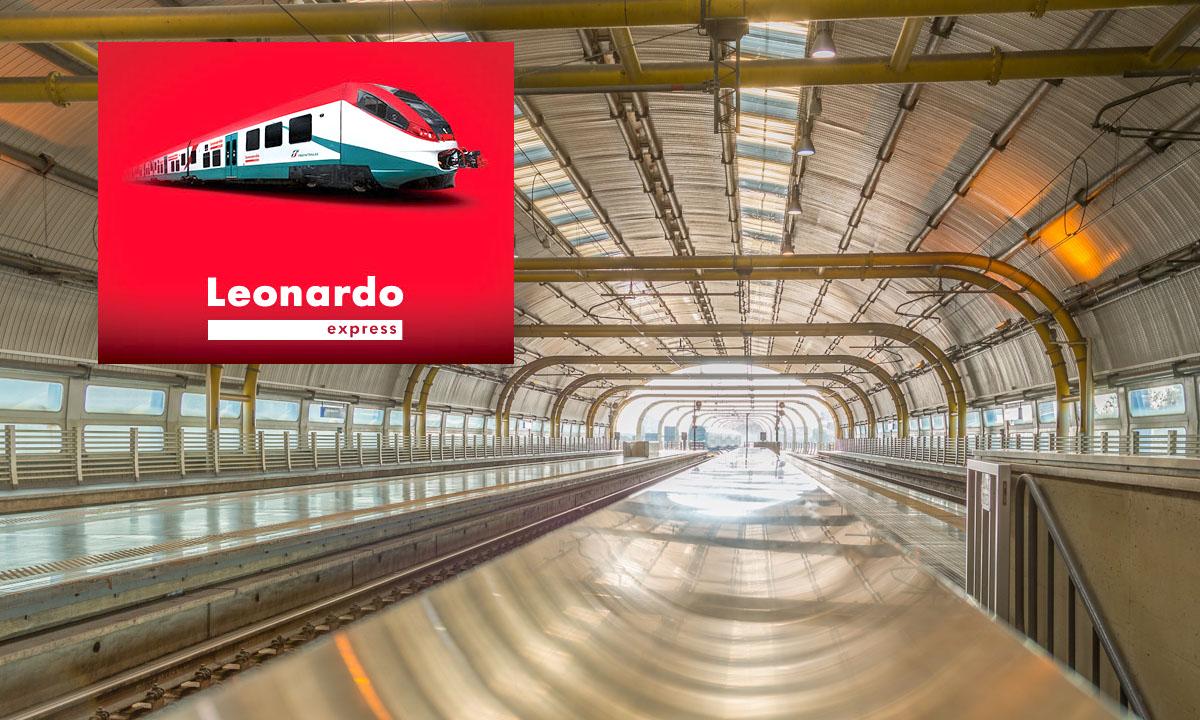 Leonardo Express à Rome