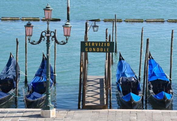 Où prendre une gondole à Venise