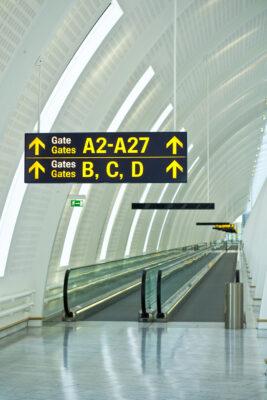 Services disponibles dans les terminaux de l'aéroport