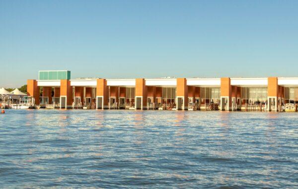 Terminal bateau de l'aéroport de Venise