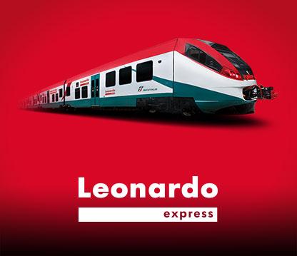 Leonardo Express : transfert aéroport / Rome en train