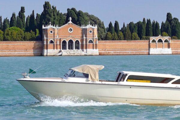 Transfert de l'aéroport de Venise en bateau-taxi