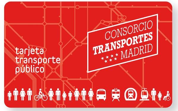 Carte pass métro à Madrid