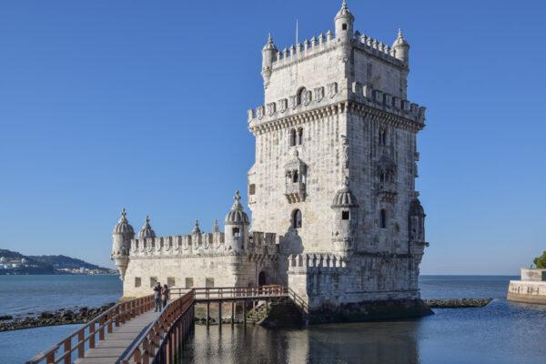 Entrée de la tour de Belém