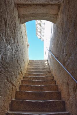 Escalier de la tour de Belém