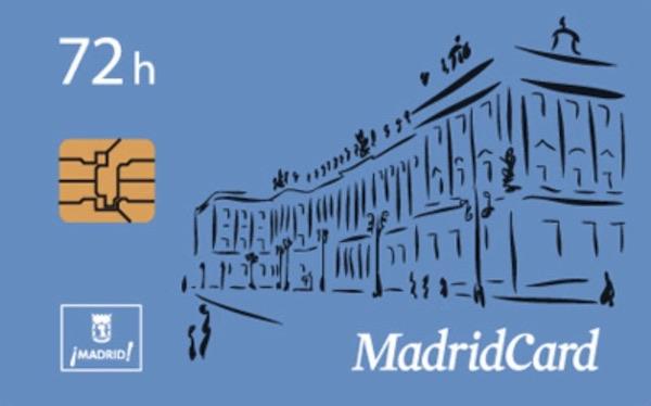 Avis sur la Madrid Card