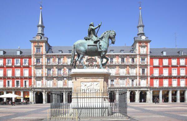 Plaza Mayor à Madrid