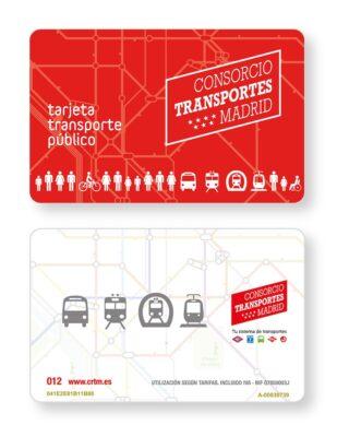 Tarjeta multi, carte de transport de Madrid