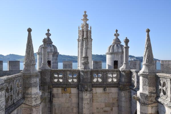 Terrasse de la tour de Belém