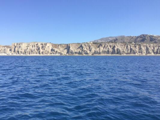 Tour en jet ski au niveau de la côte sud de Santorin