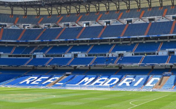 Visite du stade du club Real Madrid