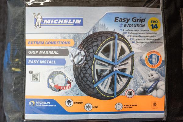 Chaînes à neige Michelin Easy Grip EVOLUTION