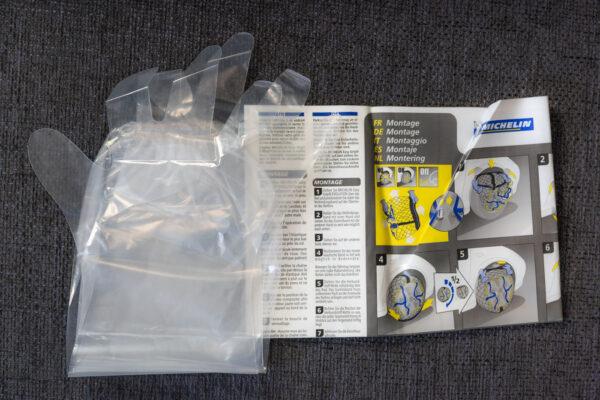 Contenu du package Michelin Easy Grip