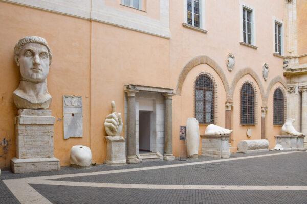Cour intérieure du musée du Capitole