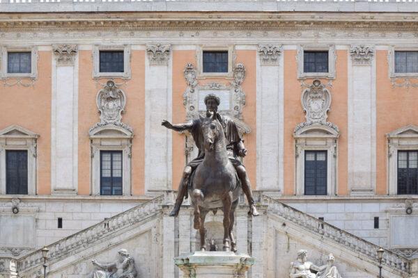 Place du Capitole à Rome