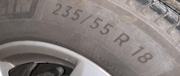 Taille d'un pneu pour les chaînes à neige Michelin