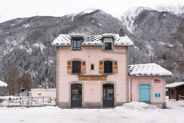 Les Bossons dans la vallée de Chamonix-Mont-Blanc