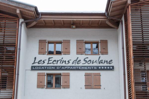 Les Ecrins de Soulane, appartement à Chamonix