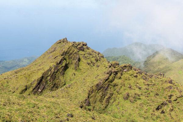 Ascension de la montagne Pelée