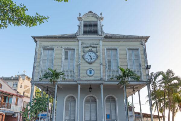 Maison de la Bourse à Saint-Pierre