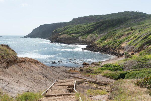 Randonnée à faire sur la presqu'île de la Caravelle